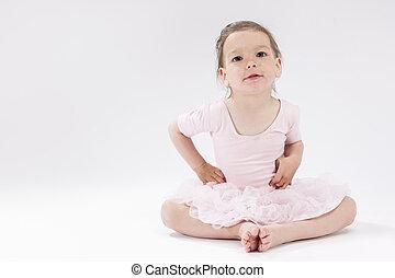 Children Concepts and Ideas. Portrait of Little Cute...