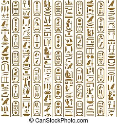 Ancient Egyptian writing - Ancient Egyptian hieroglyphic...