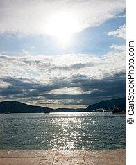 Bay Boka Kotorska, Monte Negro - Bay of Boka Kotorska in the...