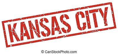 Kansas City red square stamp
