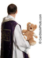 católico, Símbolo, abuso, igreja