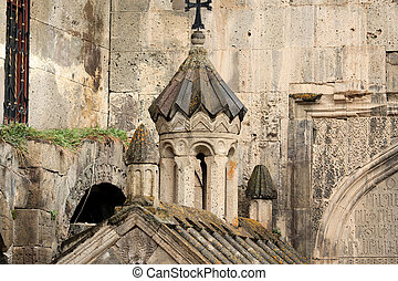Ancient monastery Tatev in Armenia - Sacred place at ancient...