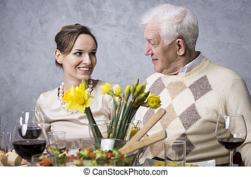 Moments of agreement without words between the generations -...