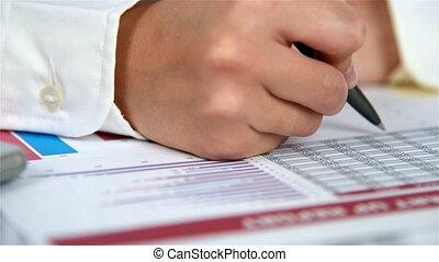 Hand Checks Report - Hand Checks Start Up Report. Slow...