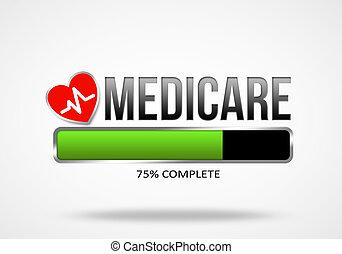 Medicare illustration concept