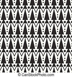 Geometric ethnic tribal seamless pattern Wrapping paper...