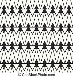 Geometric ethnic tribal seamless pattern. Wrapping paper....
