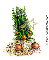 Christmas arrangement - Christmas style decoration...