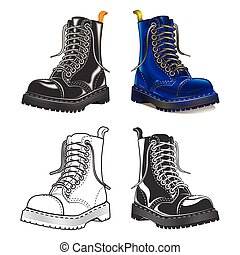 boot . Creative design elements. Great quality vector...