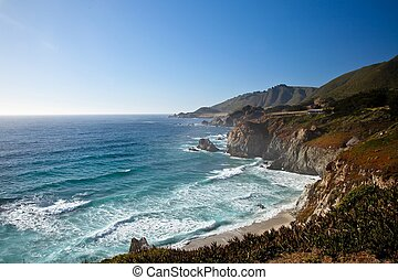 Big Sur is a sparsely populated region of the central...