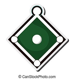 baseball field icon