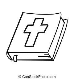 Bijbel, heilig, pictogram