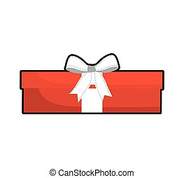 gift bowtie present icon, vector illustration - gift bowtie...