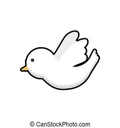 dove bird religion christianity icon