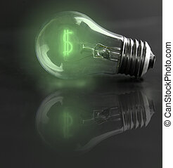 light-bulb money-sign (energy costs)