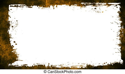 Grunge Textures And Frame Loopable Background