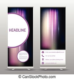 roll up advertising banners - Roll up advertising banners...