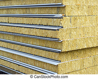 Sandwich panel for wall - Pack of Sustainable echo absorber...