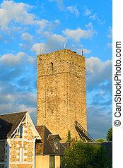 Tower in Salon-la-tour - Tower in French Salon-la-tour in...