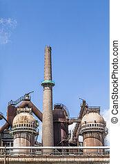 Volklingen Ironworks in Saar - old Volklingen Ironworks...