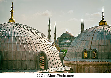 Sultan Ahmed Mosque in Istanbul. Turkey - Sultan Ahmed...