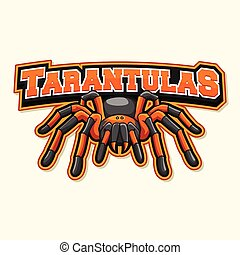 tarantula logo illustration design