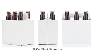 Three Six Packs of Beer
