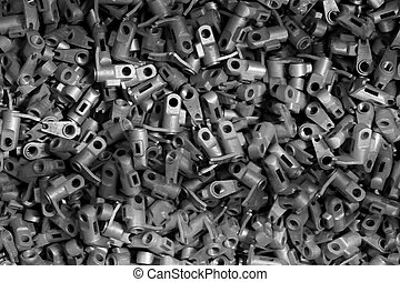 spare parts texture background - abstract of spare parts...