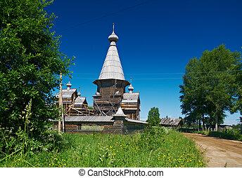 Pochozersky graveyard - Pochozersky temple complex XVIII -...
