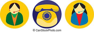 Icon vector comunication