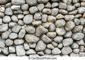 vägg, mönster, sten