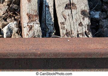 wooden railway sleepers - roads and wooden railway sleepers...