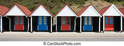 Bournemouth Beach Huts - Municipal Beach Huts, Bournemouth...