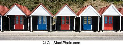 Bournemouth Beach Huts - Municipal Beach Huts, Bournemouth...