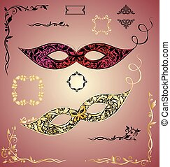 Collection of beautiful masque - Collection of beautiful...