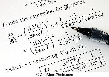 solucionar, algunos, matemáticas, preguntas