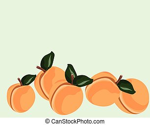 Fresh Peach fruit