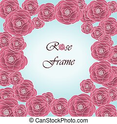 Beautiful Photo Frame with roses