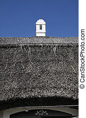 Thatched house - Old thatched cottage in Aszof at Lake...