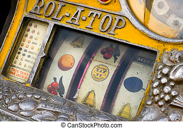 Slot machine - Vintage slot machine