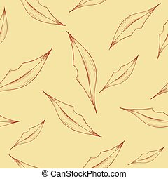 Illustration of seamless pattern with abstract lips. Vector illustration.