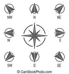 Compass Icons Collection