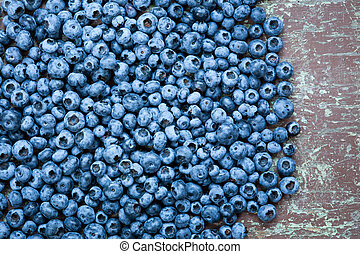Fresh picked blueberries - Ripe and fresh picked blueberries...