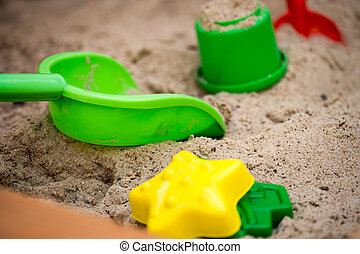 Sand, Spielzeuge