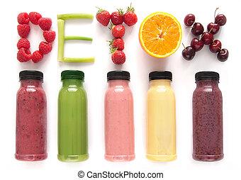 Detox juice smoothies