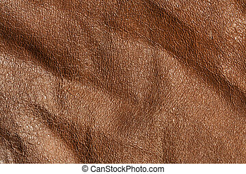 Absract brown leaher texture. Background and texture for...