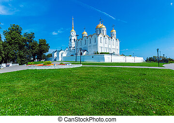 Dormition Cathedral 1160 in Vladimir, Russia - Dormition...