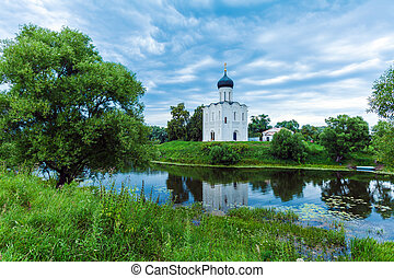 Church of the Intercession on the Nerl 1165, UNESCO heritage...