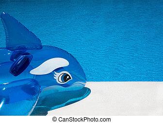 Fun pool side background - Pool side background shot on a...