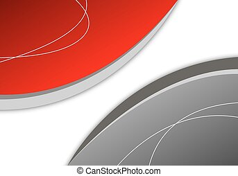 Abstract gray background lines